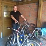 Aktion Fahrräder für Asylbewerber